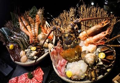 囍聚:台北海鮮火鍋代名詞—必吃七彩龍蝦